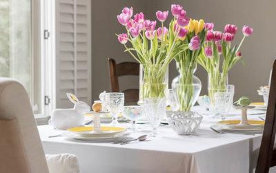 Set a Spring Table